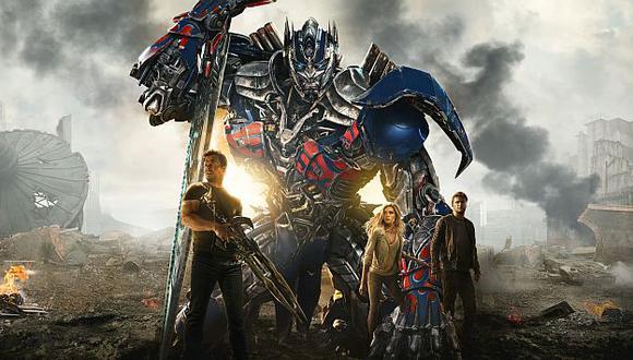 Transformers 4 ha recaudado 1,000 millones de dólares en salones de cine del mundo. (Paramount Pictures)