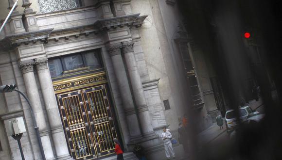 El indicador S&P/BVL Perú General, el más representativo de la bolsa, caía un -0.43%. (Foto: GEC)