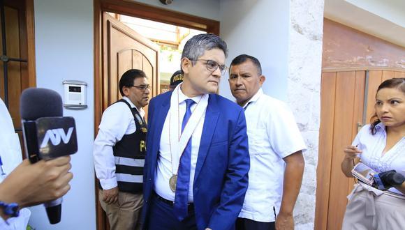 Fiscal José Domingo Pérez comentó que existe una campaña en contra de colaboradores conocer la verdad del caso Odebrecht (Jessica Vicente/GEC).