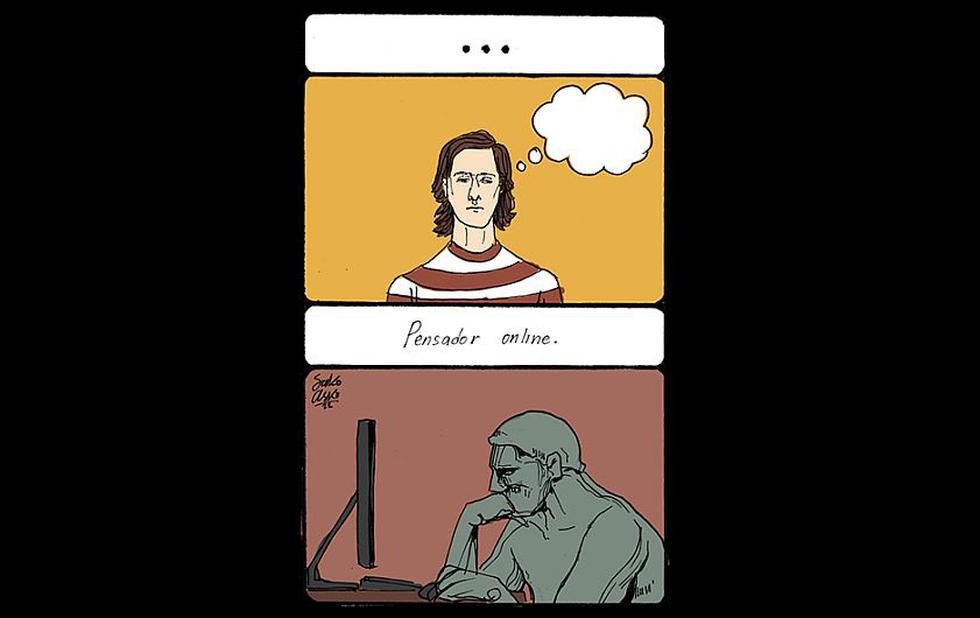 Los pensadores de Internet: ¿serán iguales cuando están offline? (Sako-Asko)