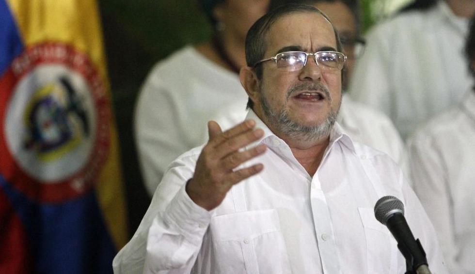 """Las FARC anuncian que no tendrán candidato presidencial por el estado de salud de Rodrigo Londoño """"Timochenko"""". (EFE)"""