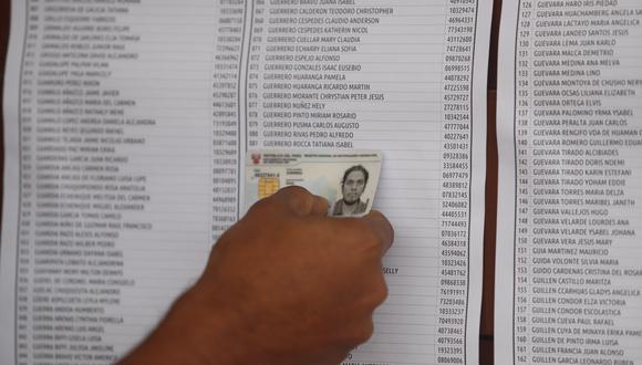 A nivel de distritos, San Juan de Lurigancho (Lima) sigue siendo el que tiene mayor población electoral del Perú, con 784,263 personas. (Foto: César Campos / GEC)