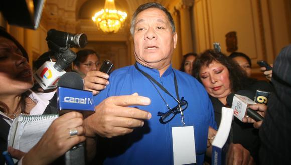 Eloy Yong Meza fue detenido por robar cable en Pisco. (Paola Flores(USI)