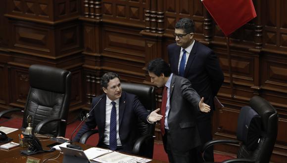 Los reclamos a Salaverry y el retorno del congresista Kenji Fujimori opacaron el debate que necesita el país(Anthony Niño de Guzmán/GEC).