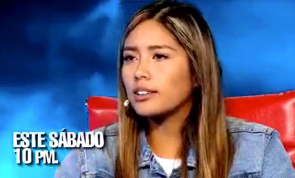 """Claudia Meza, Miss Trujillo, será la nueva invitada del programa """"El valor de la verdad"""". (Foto: Captura de video)"""