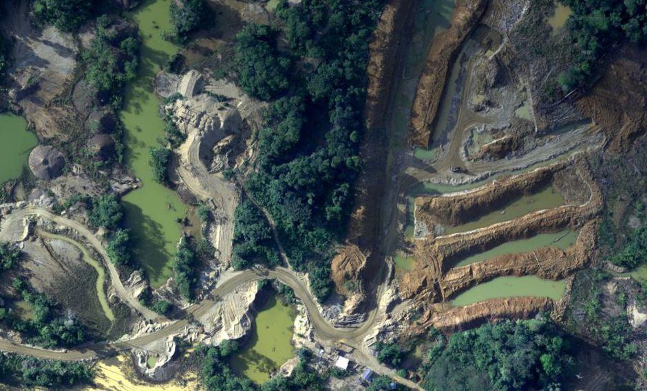 Las imágenes fueron captadas en el espacio aéreo de las provincias de Tambopata y Manu principalmente. (Foto: FAP)