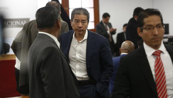Jorge Yoshiyama Sasaki es uno de los investigados por presunto lavado de activos dentro de la campaña de Keiko Fujimori. (Foto: GEC / Mario Zapata)