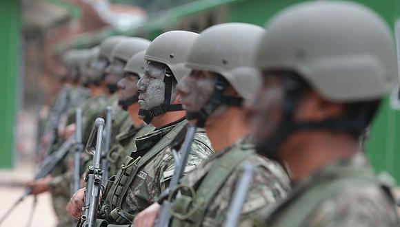 Investigarán irregular contrato para asesorar a los soldados del VRAEM por S/.40 millones. (USI)