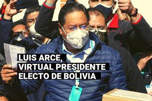 Bolivia: Quién es Luis Arce, virtual ganador de las elecciones presidenciales
