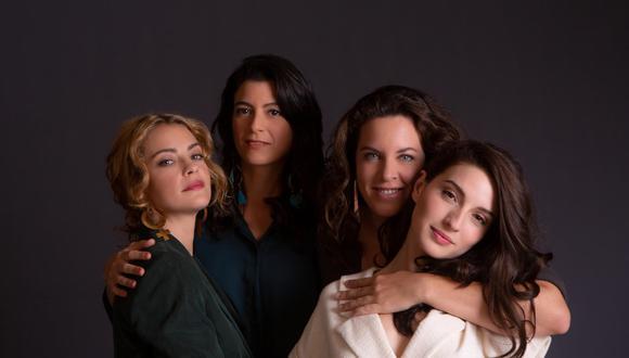 Actriz Dolores Fonzi, escritora Samanta Schweblin, directora Claudia Llosa y actriz María Valverde. (Netflix)