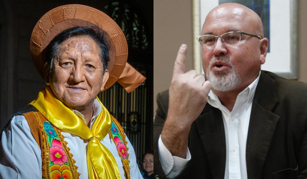 Eusebio Chato Grados encara a Carlos Bruce tras serie de comentarios desatinados. (Perú21)