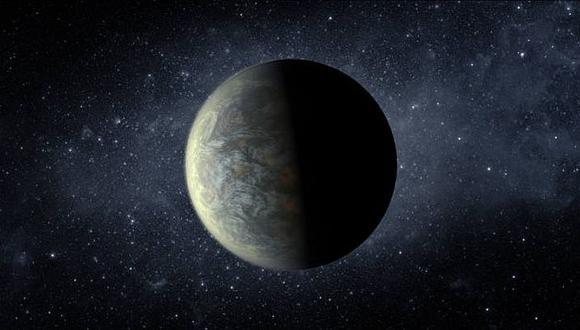 Reconstrucción artística de Kepler-20f, planeta similar a la Tierra. (NASA)