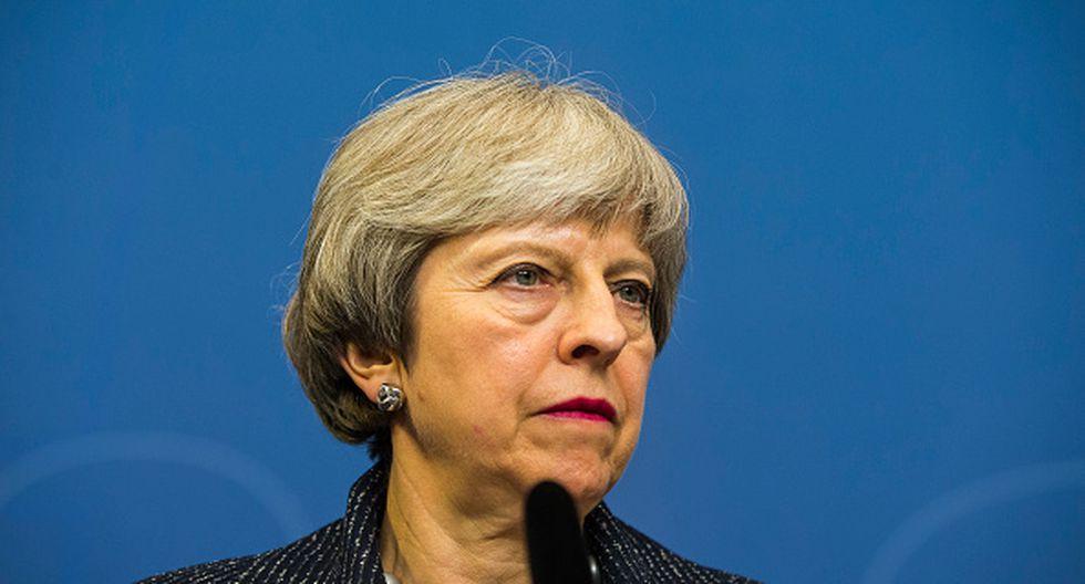 Theresa May (Getty)