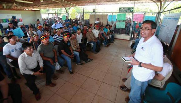 Comunidades nativas levantan medidas de fuerza tras llegar a un acuerdo con el Gobierno. (Difusión)