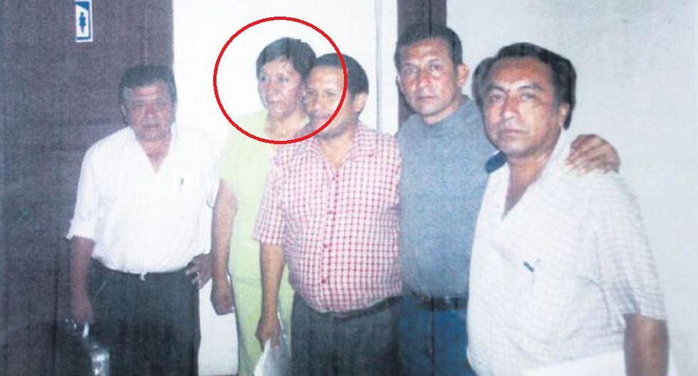 Susana Vilca en reunión con mineros informales y el entonces candidato Humala. (GEC)