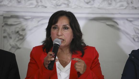 El Reniec indicó que Dina Boluarte no recibió remuneración en abril por encontrarse con licencia laboral. (Foto: Archivo GEC)
