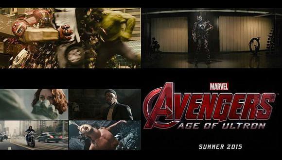 'Avengers: Age of Ultron' superó el presupuesto de la primera película. (Marvel)
