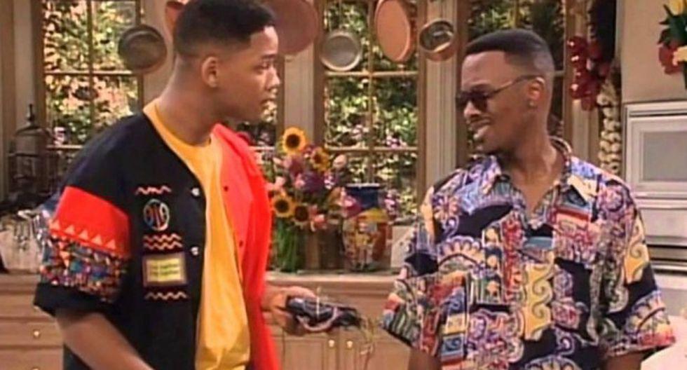 """Will Smith usó su cuenta de Instagram para saludar por su cumpleaños al recordado """"Jazz"""" de la famosa serie """"El príncipe del rap"""". (Foto: Captura de YouTube)"""