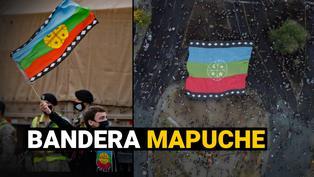 """Chile: ¿Qué significa la bandera mapuche las protestas de Chile y en la celebración del """"Apruebo""""?"""