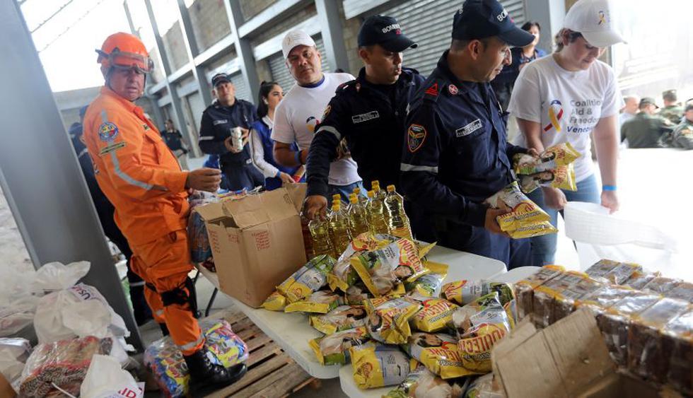 """Colombia afirma que operación de ayuda a Venezuela es """"eminentemente"""" humanitaria. (Foto: Reuters)"""