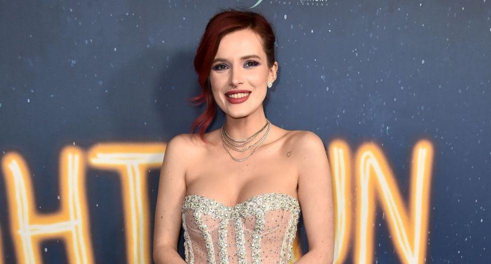 Bella Thorne mostrará otra evolución de su carrera y está vez debutará como directora en una película para adultos (Foto: AFP)