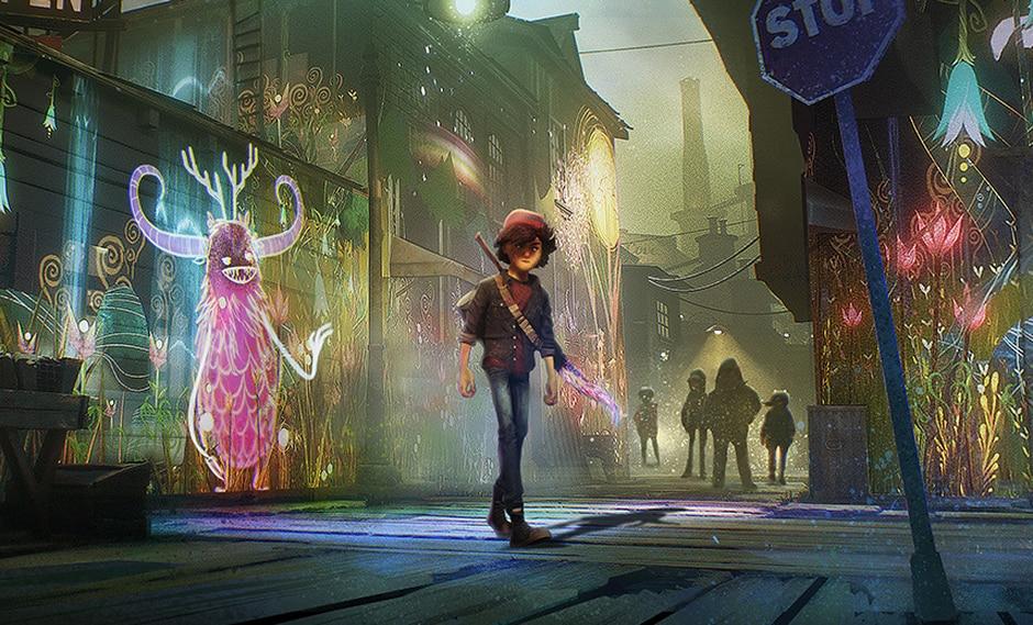 'Concrete Genie' llegará este año en exclusiva para PlayStation 4 y tendrá soporte para PlayStation VR.