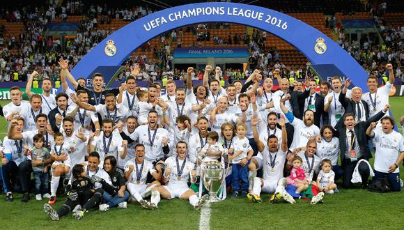 Real Madrid venció a Atlético de Madrid en la tanda de los penales de la Champions League 2016. (Foto. Real Madrid)