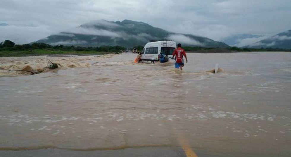 El fenómeno de El Niño del 2016 también provocó crecida de los ríos y desbordes. (Perú21)