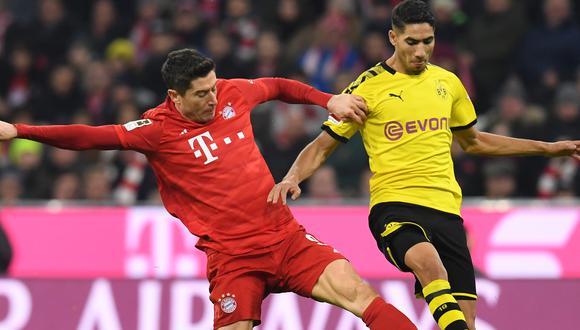 La Bundesliga 2019-20 se reanudará el próximo fin de semana. (Foto: AFP)