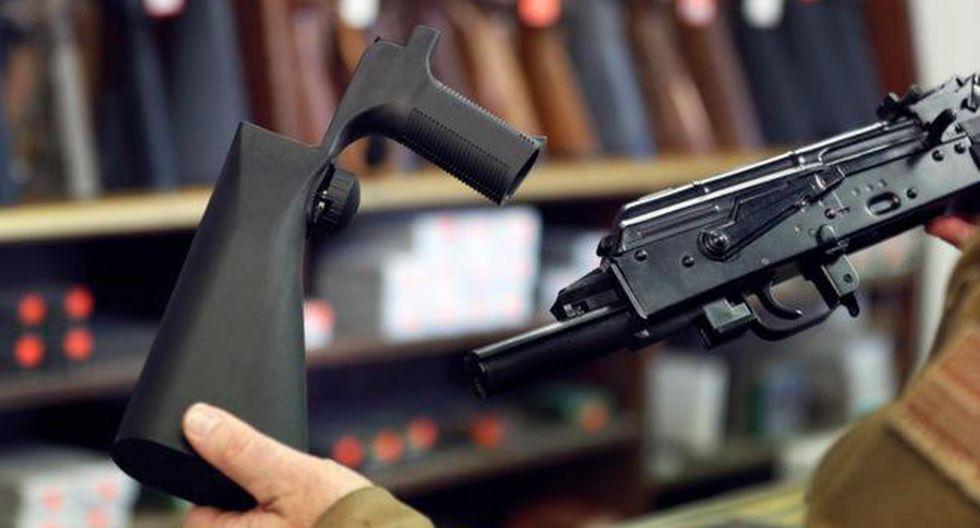 El autor de la masacre de Las Vegas el pasado octubre, Stephen Paddock, usó uno de estos aceleradores de disparos durante su ataque. (Getty)