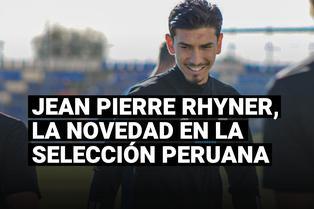 """Jean Pierre Rhyner es """"convocado"""" a la selección peruana para las Eliminatorias Qatar 2022"""