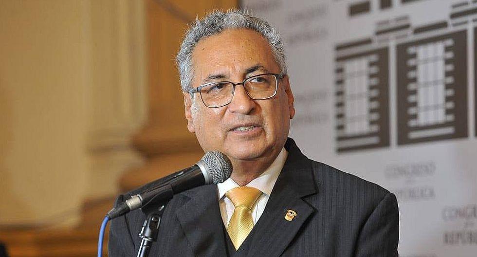 Jose Luis Lecaros señaló que Salvador Ricci jamás le pidió ayuda con ningún proceso judicial. (GEC).