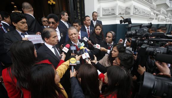 El congresista Marco Arana se mostró a favor del anuncio del presidente Martín Vizcarra. (Foto: Mario Zapata / GEC)
