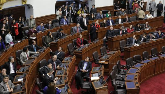 El pleno del Congreso aprobó la cuestión de confianza con 77 votos a favor, 44 en contra y 3 abstenciones. Foto: Anthony Niño De Guzmán / GEC