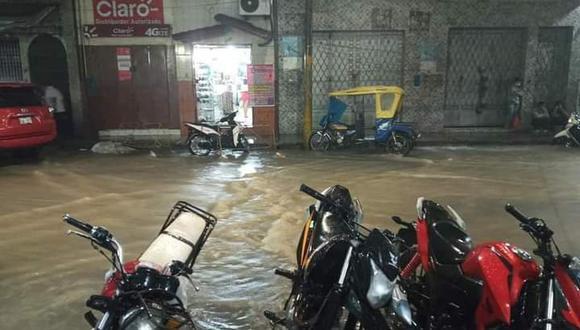 Esta noche se registraron intensas lluvias que duraron aproximadamente una hora (Foto: Difusión)