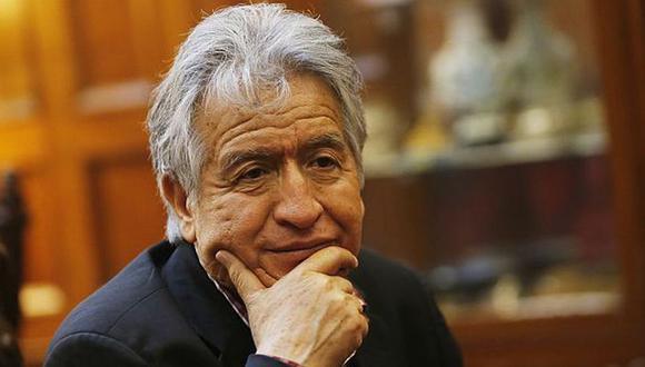 Virgilio Acuña presentará su precandidatura el martes con el partido Vamos Perú. (Foto: GEC)