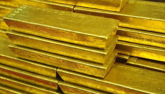 El oro abrió a la baja el lunes. (Foto: AFP)