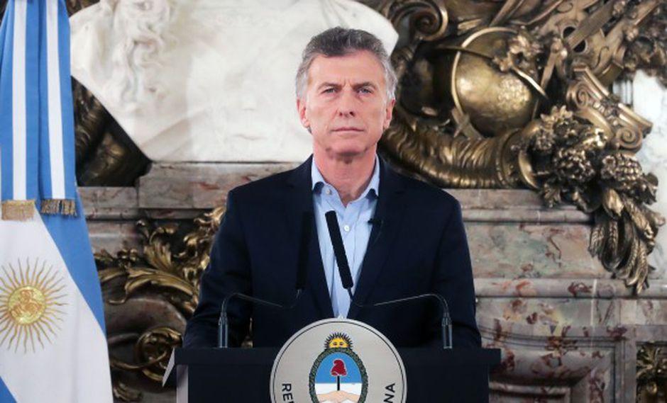 """Mauricio Macri dijo que el gobierno necesita """"construir acuerdos con mucha generosidad y patriotismo donde todos los argentinos que compartan estos valores aporten desde su lugar"""". (Foto: AFP)"""