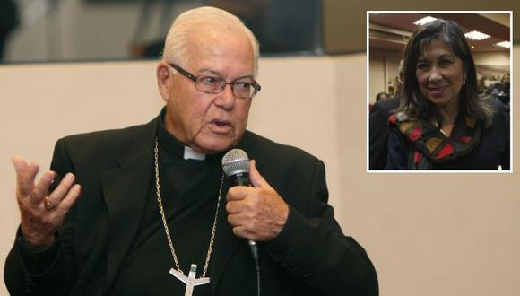 Luis Bambarén dijo a Chávez que no se disculpe calumniando. (USI/Mario Zapata)