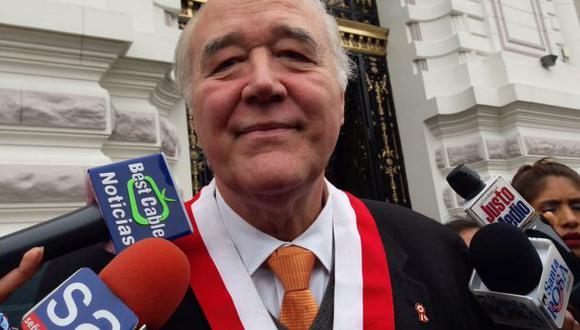 García Belaunde criticó mensaje presidencial. (Perú21)