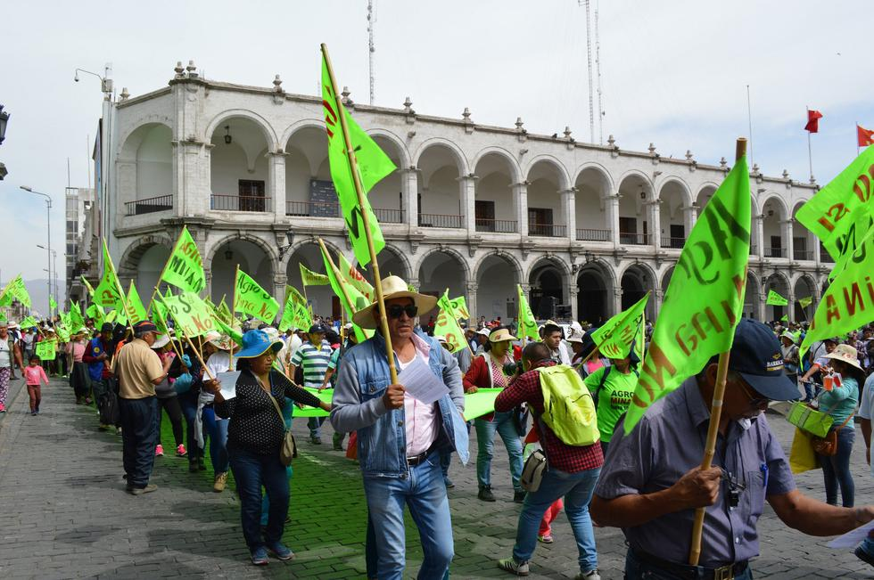 El proyecto Tía María ha generado protestas en Arequipa.