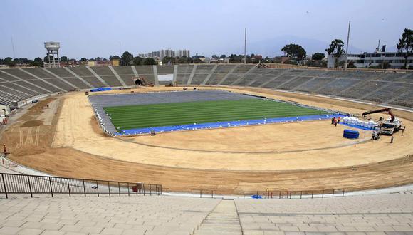 El estadio de la Universidad San Marcos será la sede del Sudamericano Sub 17 Perú 2019. (Foto: Andina)