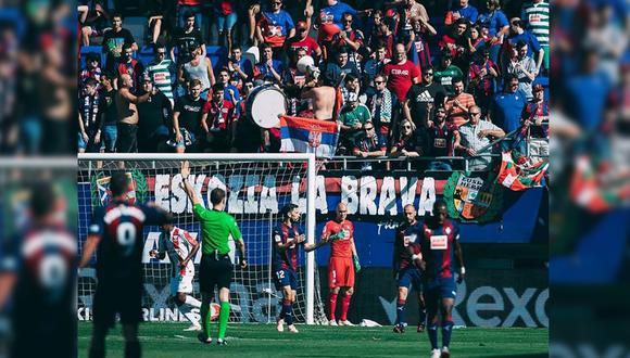 La tribuna popular del estadio del SD Eibar será derribada, pero dependen del papa Francisco. (SD Eibar)