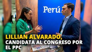 Lillian Alvarado, candidata al congreso por el Partido Popular Cristiano [VIDEO]