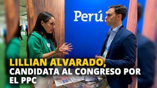 Lillian Alvarado, candidata al congreso por el Partido Popular Cristiano [VIDEO]