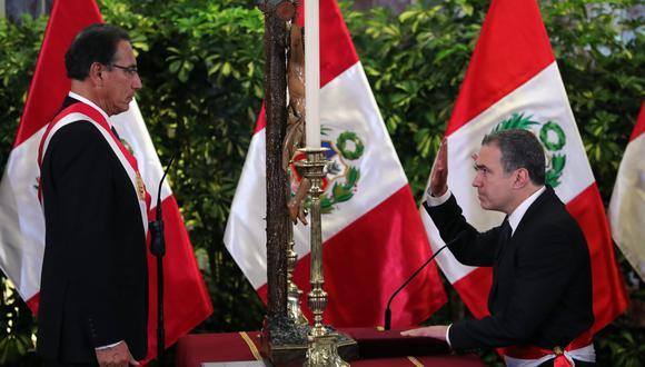 Salvador del Solar juró como presidente del Consejo de Ministros este lunes. (Foto: EFE)