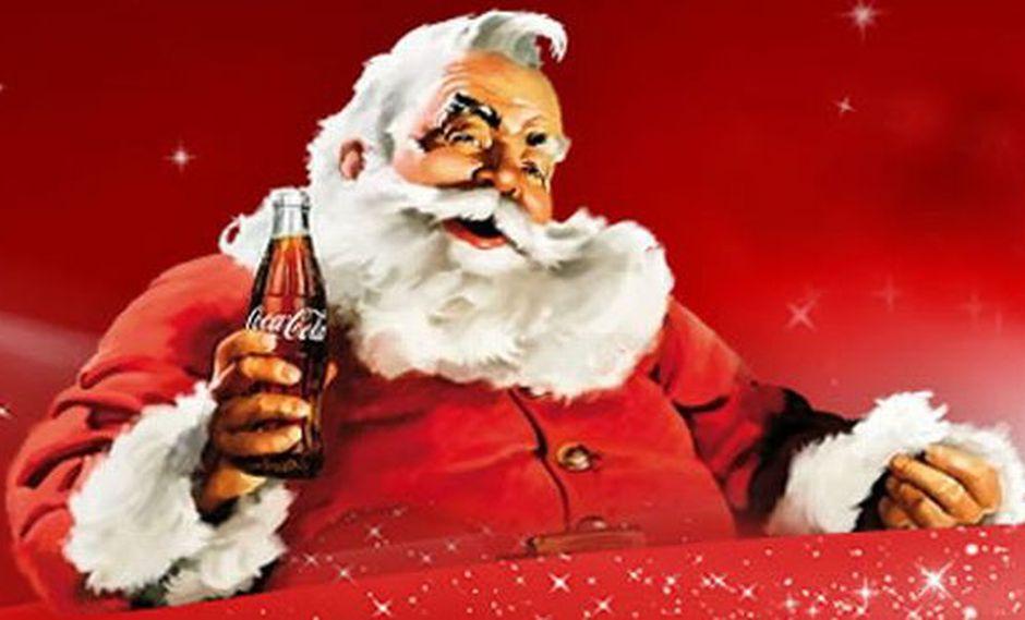 Imagenes De Papa Noel De Navidad.Navidad Papa Noel Y Coca Cola La Historia En 10 Claves