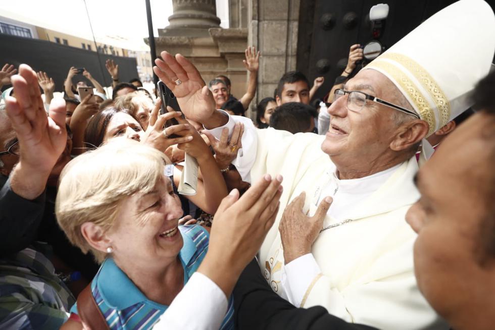 Monseñor Carlos Castillo Mattasoglio fue nombrado como Arzobispo de Lima. (Fotos: César Campos)