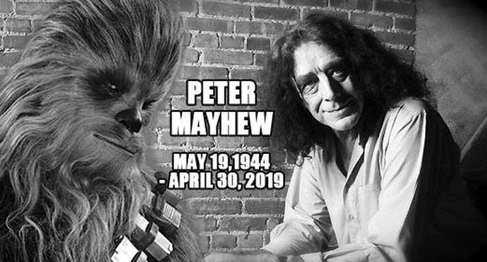 Star Wars: Murió Peter Mayhew, actor que encarnó al querido 'Chewbacca'. (Getty)