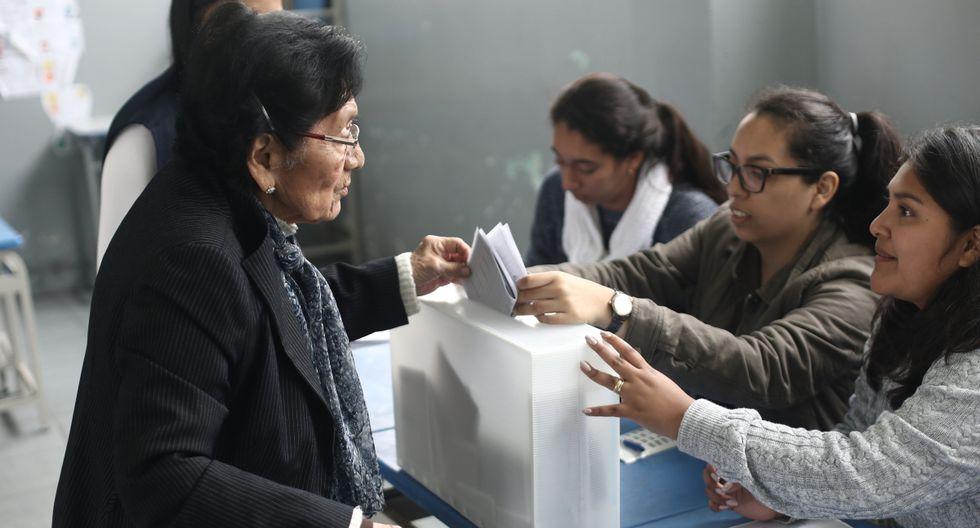 Elecciones 2020: ¿Soy miembro de mesa para estas elecciones extraordinarias?